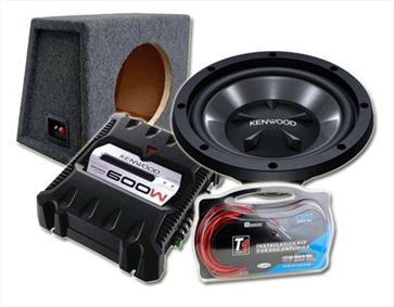 Subwoofer Wiring on Kfc W112s   Kac 6104   Box   Amp Kit Kenwood 12  800 Watt Subwoofer